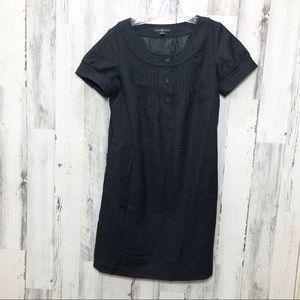 Gray Gap Short Sleeve Dress NWT Sz 10